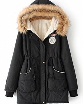 FieldFox Womens Diamond Quilted Jacket RainJacket - FFL021 - Black