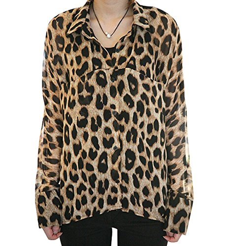 Free shipping BOTH ways on Shirts & Tops, Women, Animal Print, from our vast selection of styles. Fast delivery, and 24/7/ real-person service with a smile. Click or call