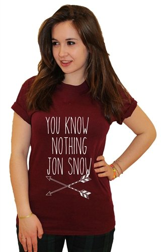 21 century clothing you now nothing jon snow women 39 s t for Century 21 dress shirts