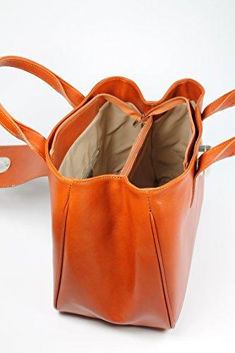 Belli 174 Premium Womens Italian Genuine Leather Tote Bag