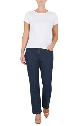 5fd838d23ae Bonmarche Womens Straight Leg Stretch Denim Jeans Blue Size 20 - Top ...