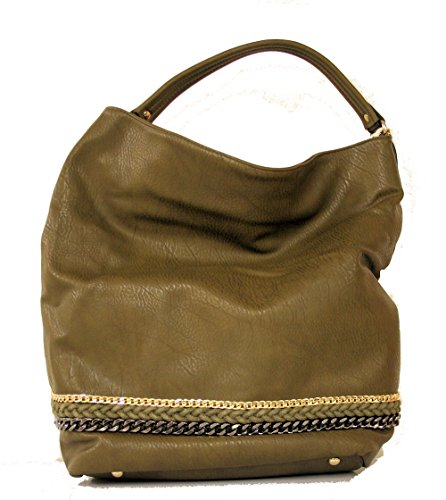 bb11462f36c8 Bulaggi Womens 29560 Shoulder Bag Dark Green - Top Fashion Shop