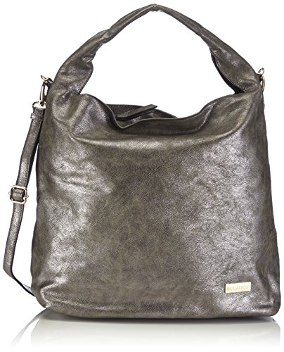73c98a3f9ba8 Bulaggi Women s 42101 Shoulder Bag 42101.72 Pewter - Top Fashion Shop