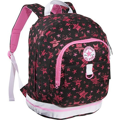 8d5d9539bd Converse Black   Pink Stars Converse Backpack - Top Fashion Shop