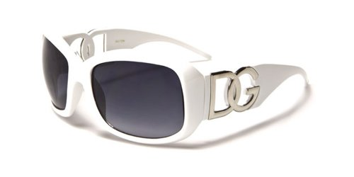77f3196a066 ... Flash Lens Ladies Designer Women s Sunglasses. DG-DG--Eyewear -White-with-Brown-Smoke-Mirror