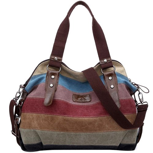 dandelion dreams handbag messenger bag canvas mixed. Black Bedroom Furniture Sets. Home Design Ideas