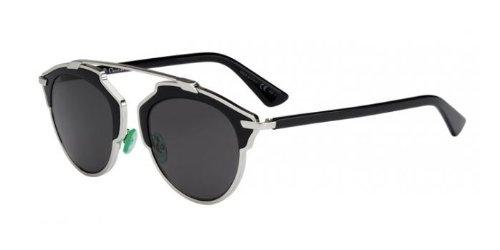 8da5ab057e ... Frame Grey Lens Metal Sunglasses. Dior-Womens-Dior-So-Real-Palladium- Black-FrameGrey-