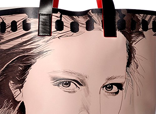Diorama Concept Leather Shoulder Bags Lost Pages Graphic