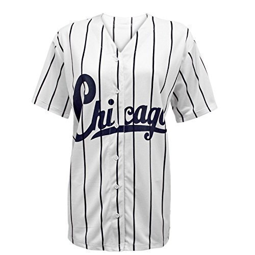 0801a3f40 ENVY BOUTIQUE NEW WOMENS LADIES CHICAGO STRIPES AMERICAN BASEBALL ...