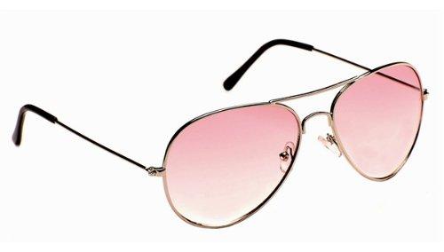 EYE LEVEL Sunglasses Mens Or Ladies Fun Pink Tinted Retro Aviator ... 3df1264bc