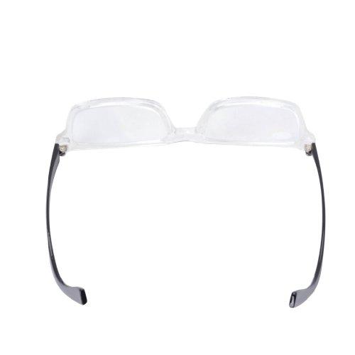 eyekepper quality clear frame plastic reading glasses 4