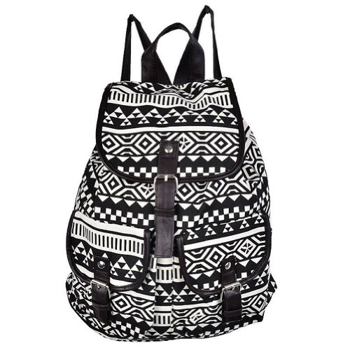 bc8414a3c909 ... Fashion-Unisex-Bookbag-Travel-Stripe-Leisure-Rucksack-Satchel-  2018 New  Anime FFF Group Canvas Backpack ...