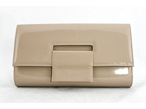 c72261616 ... Evening Clutch bag Wedding Prom 1534 (Natural Colour (Nude)).  Free-Bracelet-New-Oversized-Nude-Ladies-Party-Dinner-