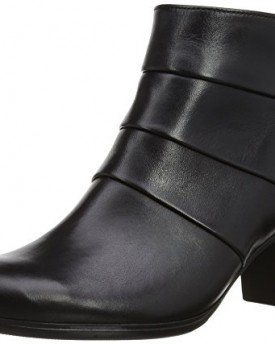 Black Pu Faux Leather Lace Up Block Chunky Platforms Knee