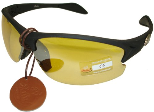 30200fc3bed2 Indian Motorcycle Sunglasses Yellow Night Driving Slim Rayzor Sports ...