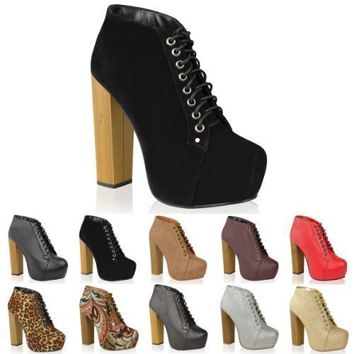 UP-CONCEALED-PLATFORM-ANKLE-BOOTS-BOOTIES-SHOES-SIZE-UK-6-EU-39-US-8