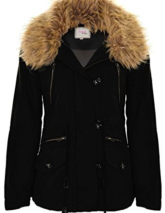 Black Parka Coat Women