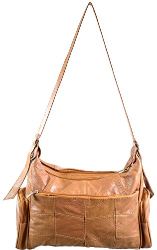 Ladies Large Leather Shoulder Bag   Hand Bag with 2 Main ... 694aeff6a13f8