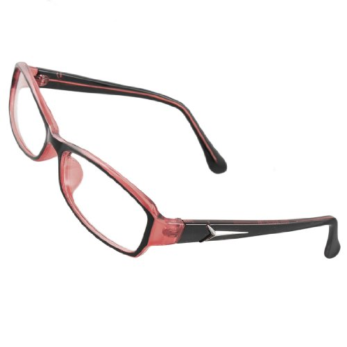 black pink plastic frame multi coated lens plain
