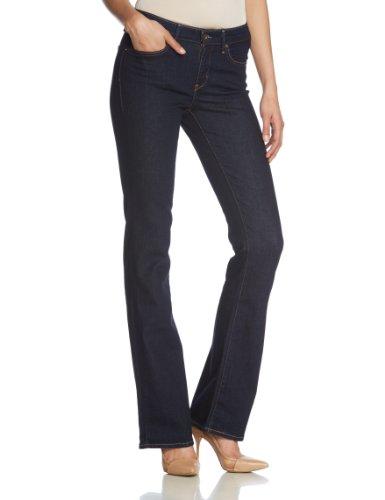 Levi's Women's Classic Rise Demi Curve Boot Cut Jeans, Richest Indigo, 27W x 32L Top Fashion Shop