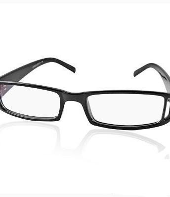 Best Lightweight Glasses Frames : Lightweight Black Frame Clear Lens Plano Glasses Unisex ...