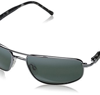 8f2e4d64ac4 Maui Jim 162-02 Gunmetal Kahuna Aviator Sunglasses Polarised ...