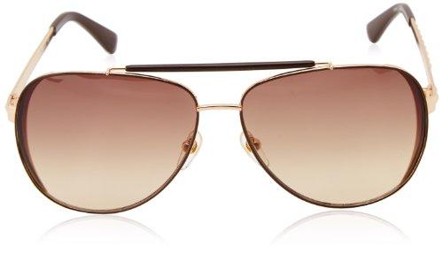 a9130bcbc2d9 Michael Kors M2064S 717 Gold Kendall Aviator Sunglasses Lens ...