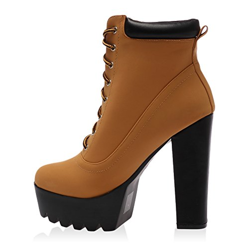 my1stwish s high heel lace up heel ankle boots