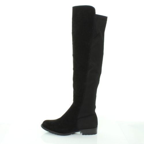 88a85477151b2 NEW HT45 LADIES WOMENS WIDE LEG CALF STRETCH OVER KNEE THIGH HIGH ...