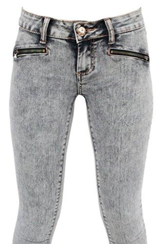 Grey Skinny Jeans Womens
