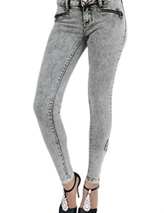 NEW WOMENS GIRLS GREY ACID WASH SKINNY JEANS WITH BOW AND ... | 332 x 430 jpeg 20kB