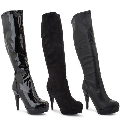 New Ladies Stiletto High Heel Platform
