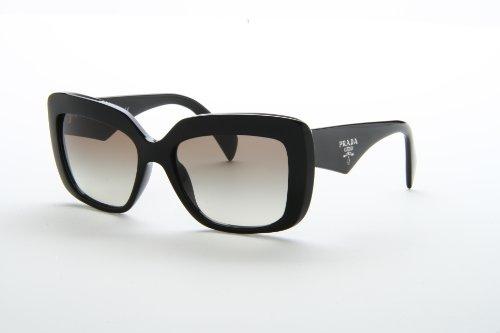 New Prada PR 03Q 1AB/0A7 Black Frame With Light Grey Shaded Lens Men ...