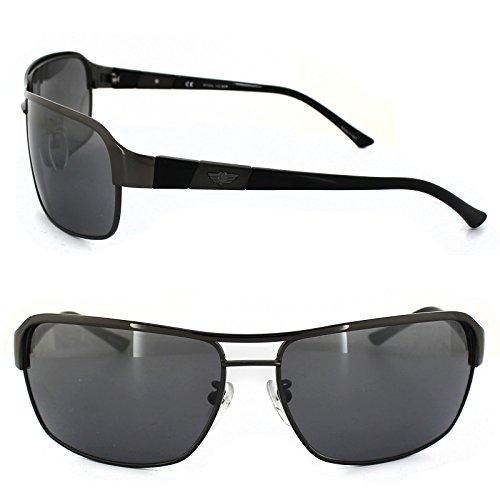 db51a6f77a Police Sunglasses 8528 568 Gunmetal   Black Grey Mirror