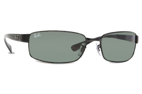 bcefb3ad9b8 ... Lens Category 3 Size Large 62m. Ray-Ban-3364-002-Black-3364-Rectangle- Sunglasses-