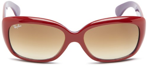 a9ee47bd5c Ray-Ban 4101 603885 Burgundy 4101 Jackie Ohh Square Sunglasses Lens ...