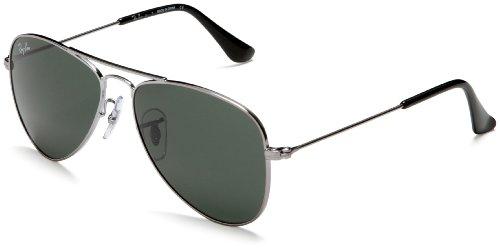 c4cdf18697 Ray-Ban Junior 9506S 200 71 Gunmetal 9506 Aviator Sunglasses Lens ...