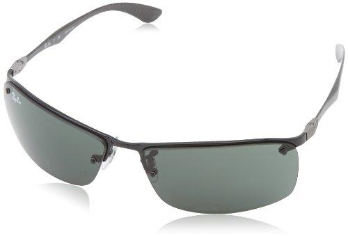 a74e762a1e Ray Ban Rb8315 Black Frame Grey   Green Lens Metal Sunglasses - Top ...