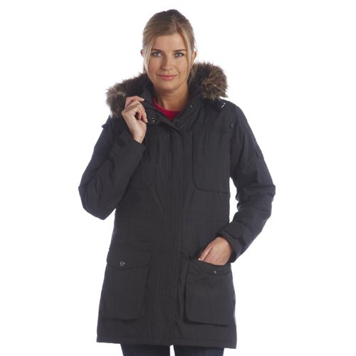 Grape Peony Raina Womens Waterproof Parka | Joules UK