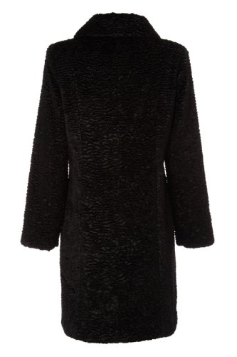 Roman Women S Faux Fur Astrakhan Coat Black Size Xxl Top