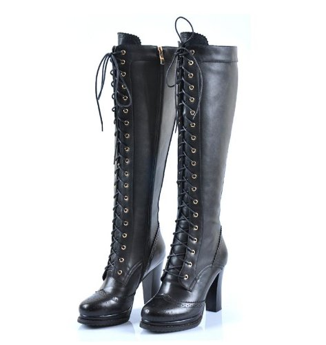 Buy Shoespie Gypsy Lace-Up Knee High Flat Boots From private-dev.tk will find many fashionable products from Hottest & Must-Have collections.