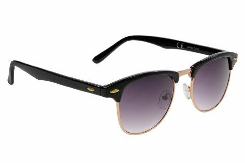 Small Retro Unisex (Mens / Womens) Clubmaster Sunglasses 1 ...
