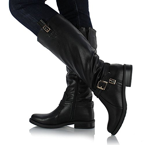 sole affair bexley leather style knee high