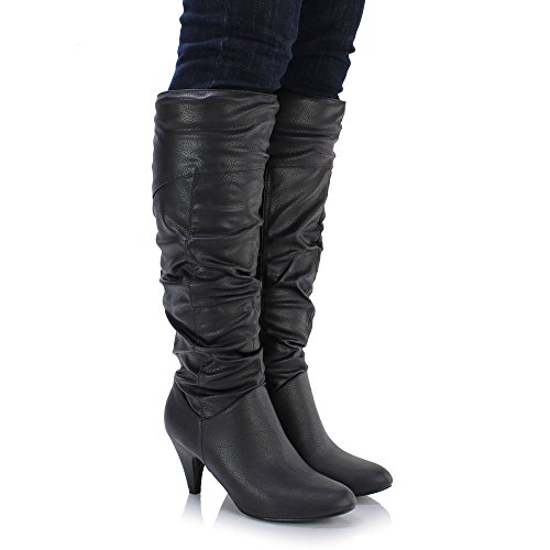 Sole Affair Paris Ladies Womens Leather Style Low Medium