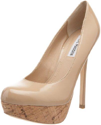 3a45d5e305 Steve Madden Bevv Womens Nude Heels Platforms Heels Shoes Size - Top ...