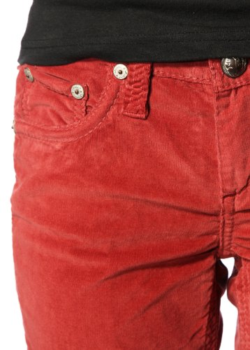 Slim Straight Jeans Womens