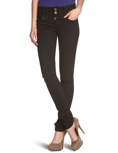 timezone women 39 s skinny fit jeans black schwarz black. Black Bedroom Furniture Sets. Home Design Ideas