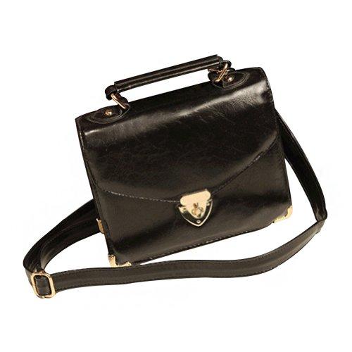 fa255dfb86a5 Vonfon Female Bag Work Place Korea Institute Retro Shoulder Bag Diagonal  Black