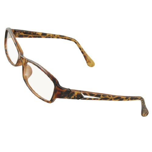 brown leopard pattern frame multi coated