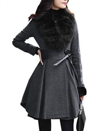 Home > Shop > Clothes > Coats & Jackets > Women Parka Faux Fur Collar